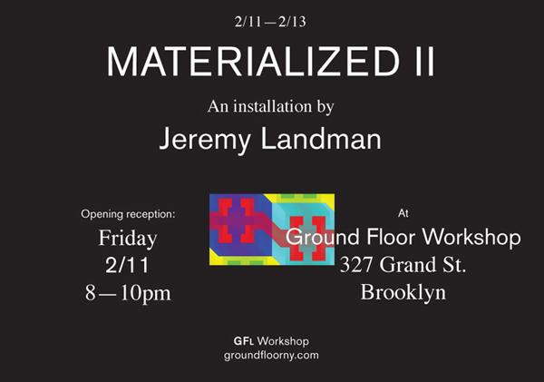 Ground Floor Workshop